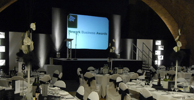 Newark Business Awards: Show Production