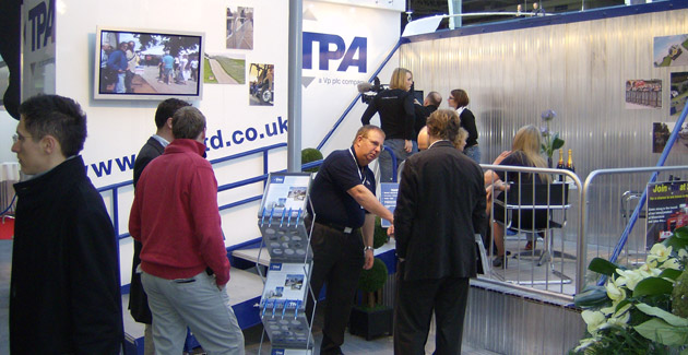 TPA: Exhibition Stand Design & Build for Production Show